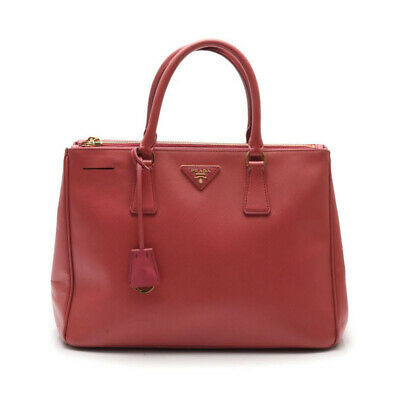 PRADA handbag leather pink 2WAY