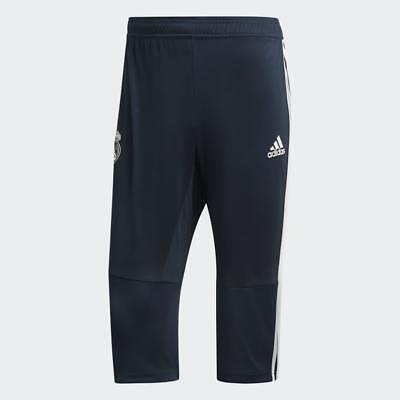 Adidas Men's Real Madrid 3/4 Training Pants (Tech Onix/White) CW8632*