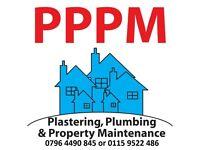 Plastering, Plumbing & Property Maintenance