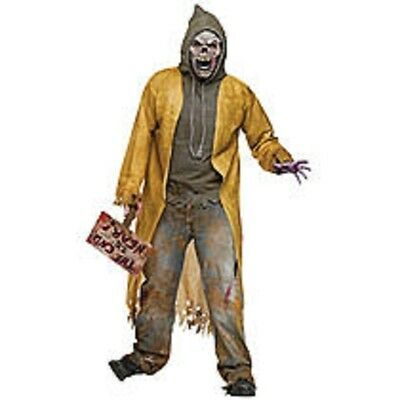NWT THE WALKING DEAD ADULT ZOMBIE APOCALYPSE HALLOWEEN COSTUME - THE END IS - The Walking Dead Zombie Costumes
