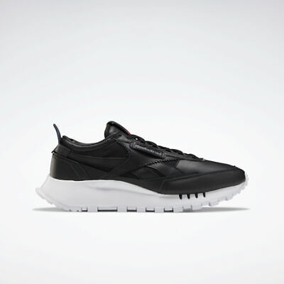 Reebok Classic Leather Legacy Triple Black Leather Trainers UK 7 RRP £70...