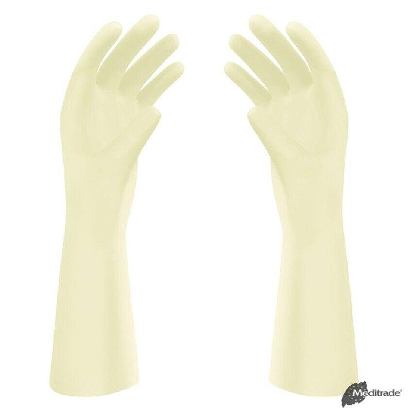 5 Paar (5x2St.) OP Handschuhe Premium steril, puderfrei, meditrade Gr. 6 bis 8,5