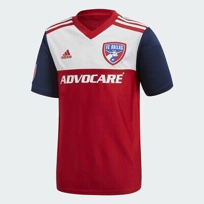Adidas para Niño Niña , Youth Climalite FC Dallas Hogar Stadium Camiseta...