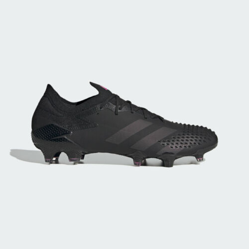 Adidas Predator Mutator 20.1 Fg Low Firm Ground Cleats Core Black/Pink EH2884