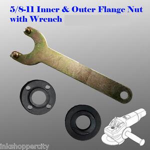 Grinder 5/8-11 Flange Lock Nut Wrench for Dewalt Milwaukee Makita BLack & Decker