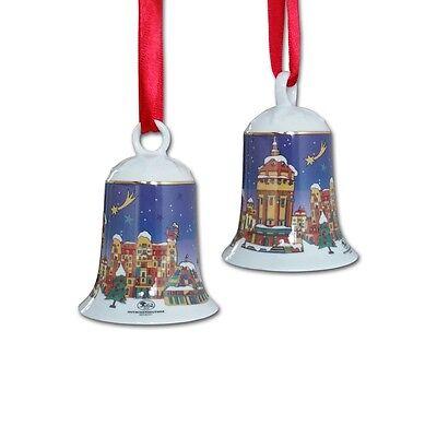 Hutschenreuther - City-glocke ''Mannheim'' (7,5 cm) Weihnachtsglocke mit OVP