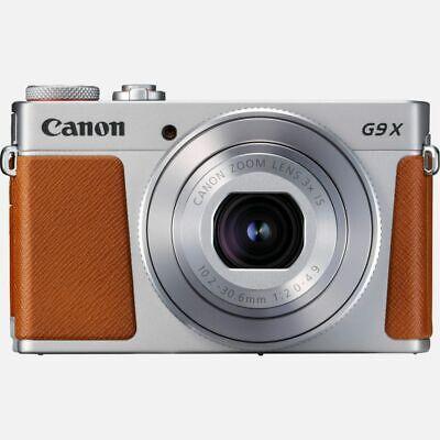 Cámara Canon Powershot G9 X Marca II Máquina Fotografica Compacta Plata