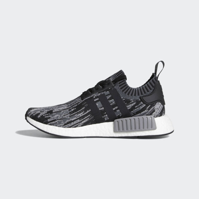 0ec7cfaa2 ADIDAS ORIGINALS NMD R1 PRIMEKNIT BZ0223 Core Black   Core Black all men  sizes