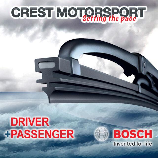 "BOSCH Super Plus Front Driver/Passenger Windscreen/Window Wiper Blades 22""/21"""