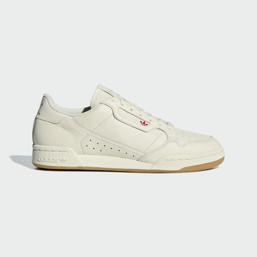 Details about Junior Adidas Originals Continental 80 Off White/Gum Trainers  (CMF11) RRP £44.99