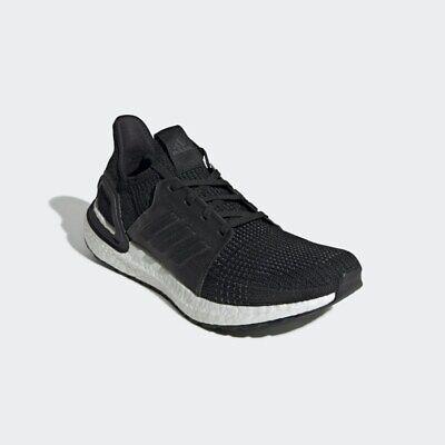Adidas UltraBOOST 19 Running Shoes/Trainers (G54009) Black/White UK7 (EU40.3).