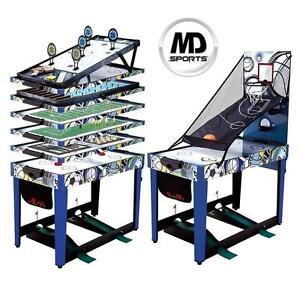 """NEW* MEDAL SPORTS 48"""" GAME TABLE 13-IN-1 COMBO GAME TABLE 100832270"""