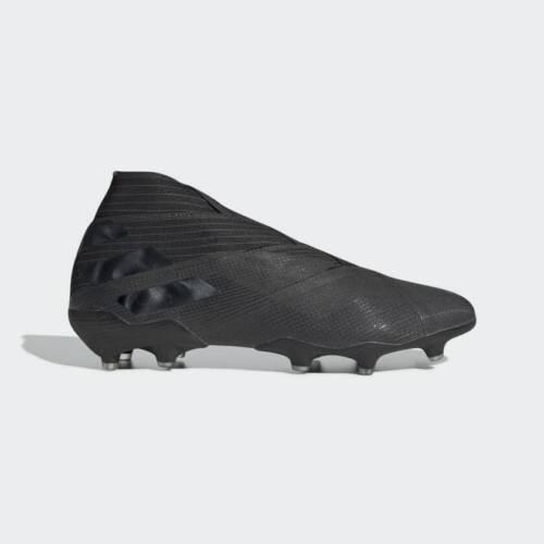 Adidas Nemeziz 19+ Mens Firm Ground Soccer Cleats Core Black/Black F34405 7-13
