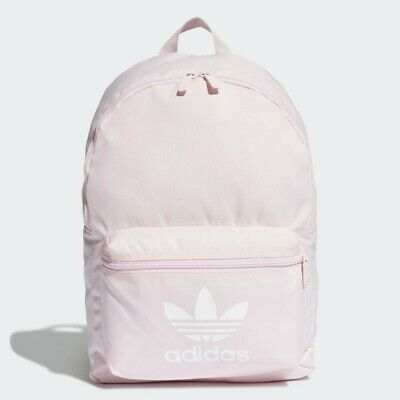 Adidas Adicolor Pink Classic Backpack Rucksack School / Gym Bag