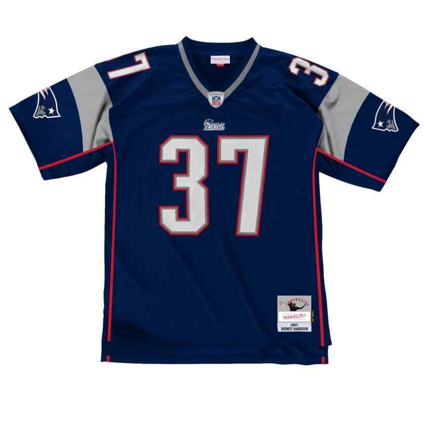 Mitchell & Ness Rodney Harrison #37 New England Patriots NFL ...