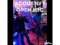 Musicians Wanted - Open Mic Wednesday London