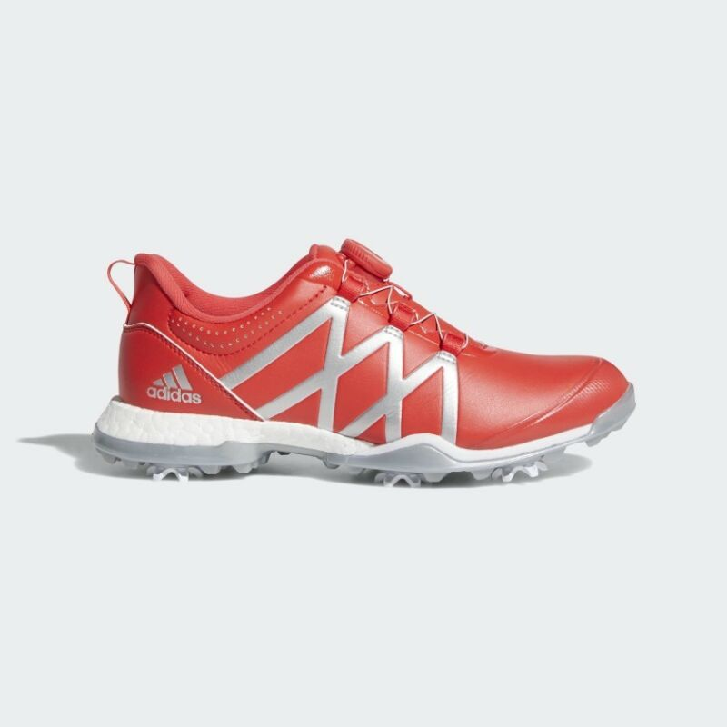 Women's Adidas Adipower Boost BOA Golf Shoe WhiteSilver