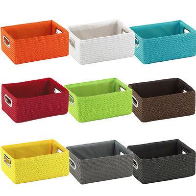 Korb Kiste Box Körbchen Aufbewahrungskorb Dekokorb Regalkorb
