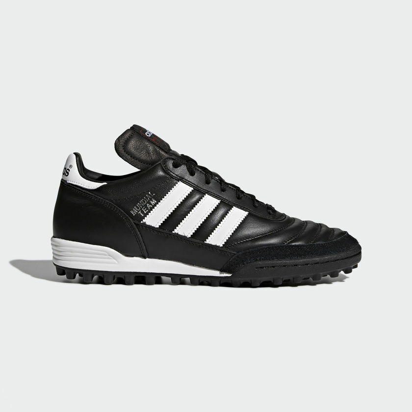 Adidas Mundial Team Men's Leather Black Soccer Shoes Cleats