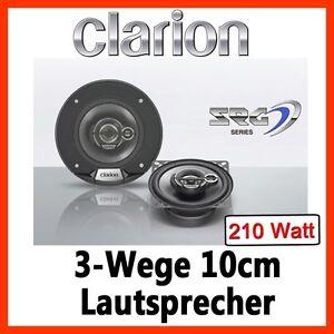 210WATT  Clarion SRG1033R - 10cm Lautsprecher Koaxe 100mm BOXEN AUTO PKW