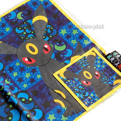 Umbreon Place Mat & Coaster Pokemon Center Ltd Eevee Collection Authentic Japan