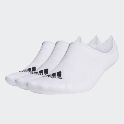 Adidas 3 Pack Low Cut Socks White No Show Adidas Golf Ankle Socks Choose Size!