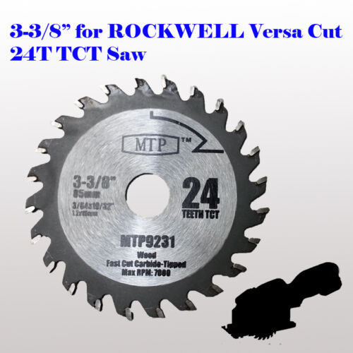 3 3 8 Inch Carbide Circular Saw Blade For Rockwell