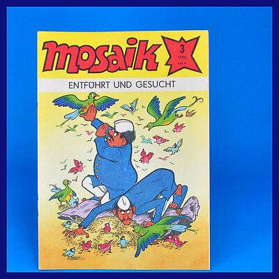MOSAIK ABRAFAXE 3 VOM M RZ 1986 DDR 123