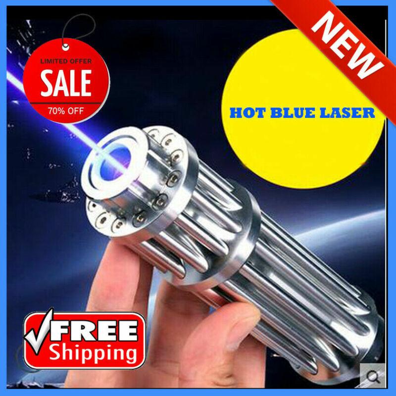 Hot! High Power 5000000M Blue Laser Pointers 450Nm Lazer Flashlight Burning