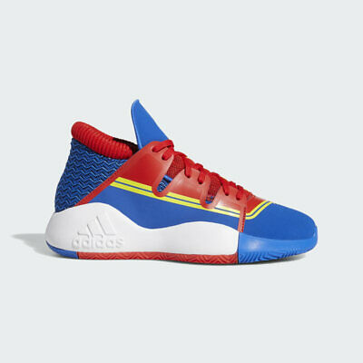 adidas Pro Vision J Captain Marvel Basketball Shoes Red/White/Blue Youth 5Y