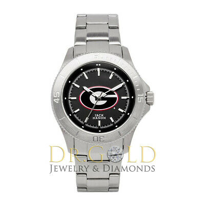 Jack Mason Mid-Size University of Georgia Bulldogs UGA St Steel Watch -