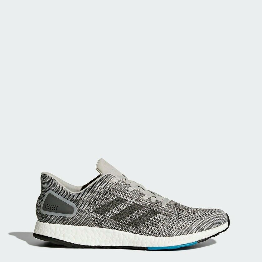 775d6e120db Adidas Pureboost DPR Shoes Trainers Grey UK Size 8.5
