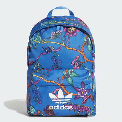 Adidas Originals Classic Poison Floral Backpack Rucksack Work Sports School Bag