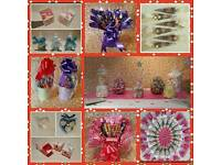 Confectionary favours, gifts and cones