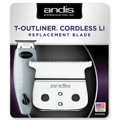 Andis T-Outliner Cordless Li Replacement Blade T-Blade 04535 Barber Hair Trimmer for sale  Los Angeles