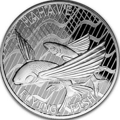 2020 Tokelau 1 oz Silver Flying Fish