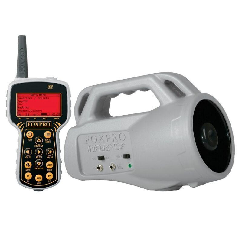 Foxpro Inferno Predator Coyote Game Call W/ FoxBang & Remote Auth/ Dealer Reburb