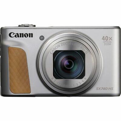 Cámara Canon SX740 Hs Máquina Fotografica Compacta Plata Zoom 40X