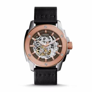 Fossil Modern Machine Automatic Leather Watch - Brand New Buckland Glamorgan Area Preview