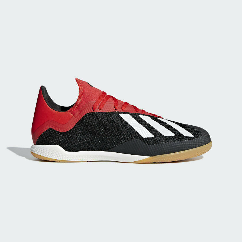 ec13157ff9 Adidas Men's X Tango 18.3 Indoor IN Soccer Shoes (Black/Active  Red/White)BB9391*