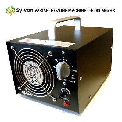 REFURBISHED SYLVAN OG-5000 OZONE GENERATOR VARIABLE ADJUSTABLE OZONE 0-5000MG/HR