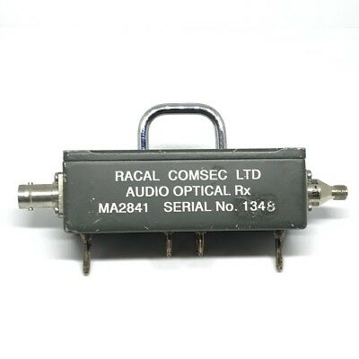 Audio Optical Receiver MA2841 RACAL for sale  Shipping to United States