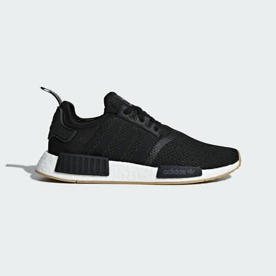 New Adidas Men's Originals NMD R1 Shoes (B42200)  Black //