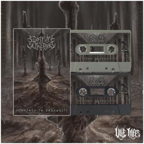 Fixation On Suffering - Confined In Obscurity Cassette Tape New/Sealed Disgorge