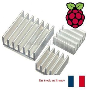 Alu. Adhésif Thermique Heat Sink Dissipateur Radiateur Cooling pour Raspberry Pi - France - État : Neuf: Objet neuf et intact, n'ayant jamais servi, non ouvert, vendu dans son emballage d'origine (lorsqu'il y en a un). L'emballage doit tre le mme que celui de l'objet vendu en magasin, sauf si l'objet a été emballé par le fabricant d - France