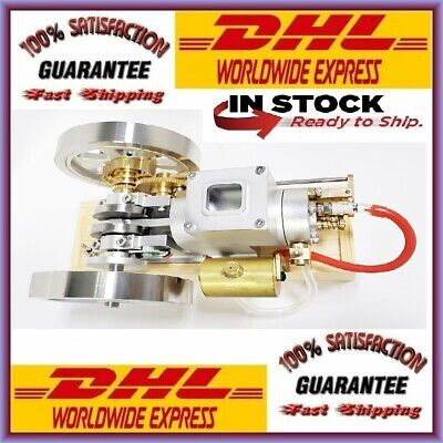 Et3 Full Metal Gray Stem Combustion Engine Hit Miss Gas Model Engine Science