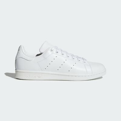 Adidas Originals Stan Smith Shoes Retro Trainers White Leather Lace Up S75104