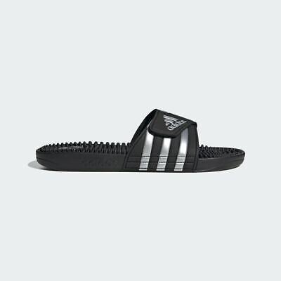 Adidas Adissage UK 11 Flip flops Sandals Beach Slippers Sliders Black