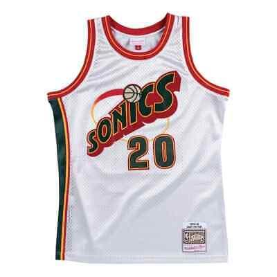 Mitchell & Ness NBA Platinum Swingman Jersey Seattle Supersonics Gary Payton