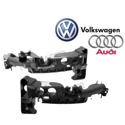 NEW Audi A3 Quattro 09 13 Pair Set of Left  Right Headlight Support Bracket
